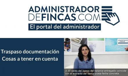 Traspaso de documentación