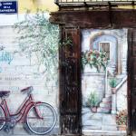 Arte y vida en las fachadas de la comunidad